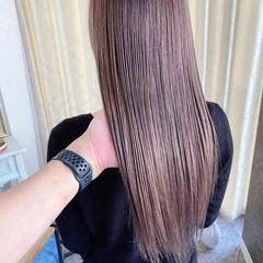 ハイライト ダブルブリーチ ナチュラル エアータッチ ヘアスタイルや髪型の写真・画像