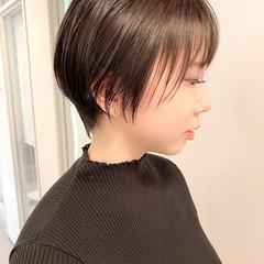 ベリーショート 大人かわいい ショート ゆるふわ ヘアスタイルや髪型の写真・画像