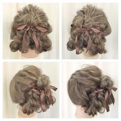 ルーズ 大人女子 アップスタイル ヘアアレンジ ヘアスタイルや髪型の写真・画像