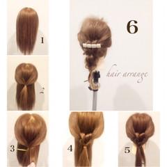 ヘアアレンジ パーティ ルーズ モテ髪 ヘアスタイルや髪型の写真・画像