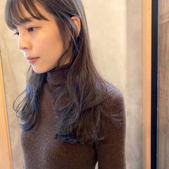 透明感カラー ナチュラル くすみベージュ 透明感 ヘアスタイルや髪型の写真・画像