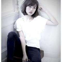 ゆるふわ 卵型 ナチュラル フェミニン ヘアスタイルや髪型の写真・画像