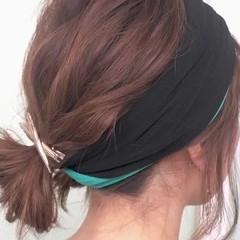 ショート セミロング ゆるふわ 大人かわいい ヘアスタイルや髪型の写真・画像