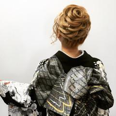 甘め 振袖 成人式 ロング ヘアスタイルや髪型の写真・画像