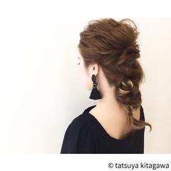 結婚式 ハイライト ゆるふわ ダブルカラー ヘアスタイルや髪型の写真・画像