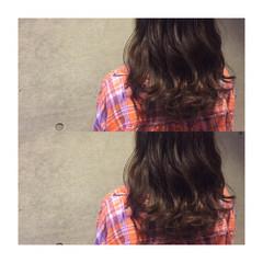 ゆるふわ 外国人風 ハイライト ミディアム ヘアスタイルや髪型の写真・画像