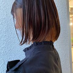 ミニボブ モード 切りっぱなしボブ ボブ ヘアスタイルや髪型の写真・画像