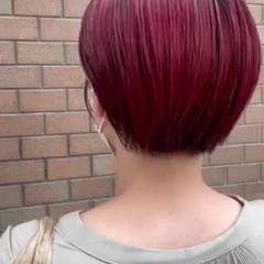 ショートヘア モード ショート ミニボブ ヘアスタイルや髪型の写真・画像