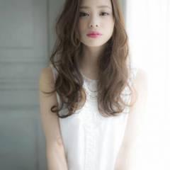 ロング 春 モテ髪 ナチュラル ヘアスタイルや髪型の写真・画像