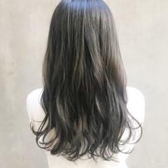 オフィス ナチュラル セミロング デート ヘアスタイルや髪型の写真・画像