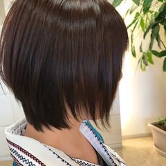 ショート 簡単ヘアアレンジ ナチュラル オフィス ヘアスタイルや髪型の写真・画像