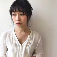結婚式 女子会 ヘアアレンジ ナチュラル ヘアスタイルや髪型の写真・画像
