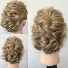 ショート ヘアアレンジ ロング 大人かわいい ヘアスタイルや髪型の写真・画像