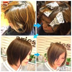 外国人風カラー アッシュ ストリート ダブルカラー ヘアスタイルや髪型の写真・画像