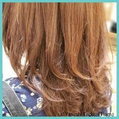 ナチュラル トリートメント 髪質改善トリートメント ミディアム ヘアスタイルや髪型の写真・画像