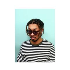 ショート ヘアアレンジ ストリート メンズ ヘアスタイルや髪型の写真・画像