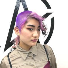 ブリーチカラー ブリーチオンカラー モード ブリーチ ヘアスタイルや髪型の写真・画像