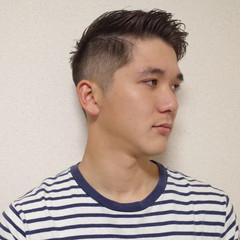ストリート メンズヘア メンズショート ツーブロック ヘアスタイルや髪型の写真・画像