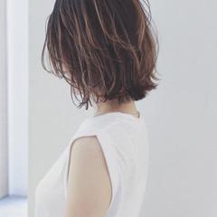 大人かわいい ボブ ヘアアレンジ フェミニン ヘアスタイルや髪型の写真・画像