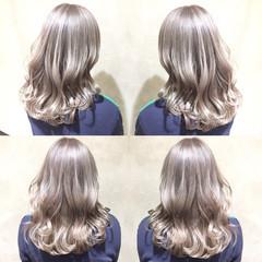 ハイトーン ハイライト ストリート ロング ヘアスタイルや髪型の写真・画像