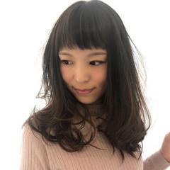 ロング ロングヘアスタイル ゆるふわパーマ 大人かわいい ヘアスタイルや髪型の写真・画像