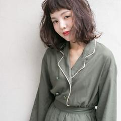 外国人風 マルサラ 大人かわいい ストリート ヘアスタイルや髪型の写真・画像