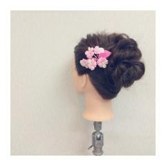 大人かわいい フェミニン ゆるふわ ロング ヘアスタイルや髪型の写真・画像