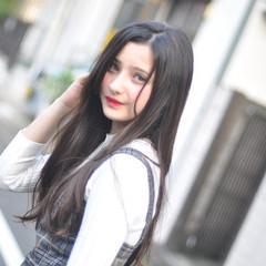 黒髪 ナチュラル パーマ ヘアアレンジ ヘアスタイルや髪型の写真・画像