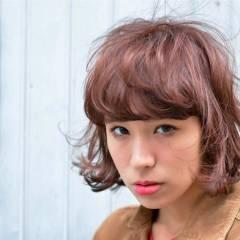外国人風 かわいい ウェーブ ストリート ヘアスタイルや髪型の写真・画像