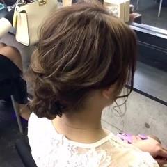 ロング ヘアアレンジ ヘアセット アップスタイル ヘアスタイルや髪型の写真・画像