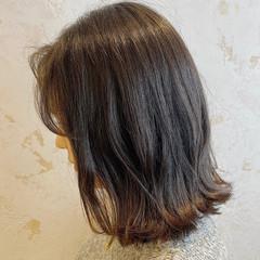 美髪 切りっぱなしボブ レイヤーボブ ボブ ヘアスタイルや髪型の写真・画像