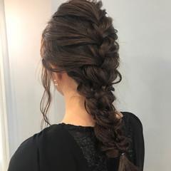 結婚式 ヘアアレンジ ロング デート ヘアスタイルや髪型の写真・画像