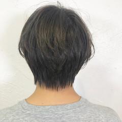 オフィス 成人式 スポーツ 黒髪 ヘアスタイルや髪型の写真・画像