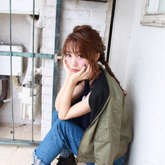 セミロング 大人女子 アッシュ ショート ヘアスタイルや髪型の写真・画像