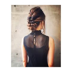 二次会 デート ヘアアレンジ ロング ヘアスタイルや髪型の写真・画像