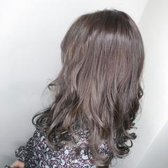 アディクシーカラー ミディアム 外国人風カラー ヘアアレンジ ヘアスタイルや髪型の写真・画像