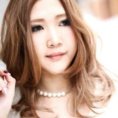 外国人風 ガーリー 大人かわいい 小顔 ヘアスタイルや髪型の写真・画像