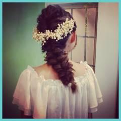 ディズニー コンサバ 二次会 結婚式 ヘアスタイルや髪型の写真・画像