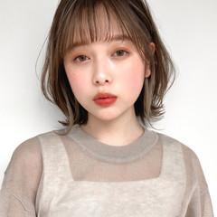 イヤリングカラー 髪質改善トリートメント 縮毛矯正 アンニュイほつれヘア ヘアスタイルや髪型の写真・画像