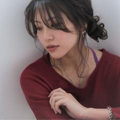外国人風 簡単ヘアアレンジ ヘアアレンジ 大人女子 ヘアスタイルや髪型の写真・画像