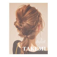 ゆるふわ ヘアアレンジ ミディアム ショート ヘアスタイルや髪型の写真・画像
