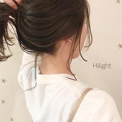 ゆるナチュラル ゆるふわ ゆる巻き ハイライト ヘアスタイルや髪型の写真・画像