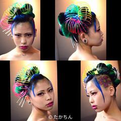 ヘアアレンジ 和服 個性的 着物 ヘアスタイルや髪型の写真・画像
