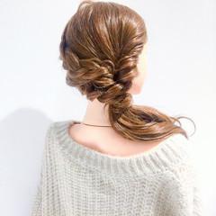 上品 ゆるふわ 簡単ヘアアレンジ ヘアアレンジ ヘアスタイルや髪型の写真・画像