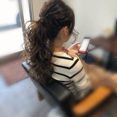 ロング エレガント ヘアアレンジ ヘアセット ヘアスタイルや髪型の写真・画像