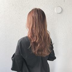 ロング 外国人風 ナチュラル 外国人風カラー ヘアスタイルや髪型の写真・画像
