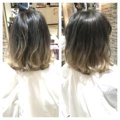 渋谷系 ミディアム ストリート 外国人風 ヘアスタイルや髪型の写真・画像