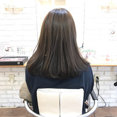 ナチュラル ロング 透明感カラー 3Dハイライト ヘアスタイルや髪型の写真・画像