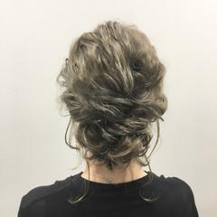 波ウェーブ 外国人風 ボブ ヘアアレンジ ヘアスタイルや髪型の写真・画像