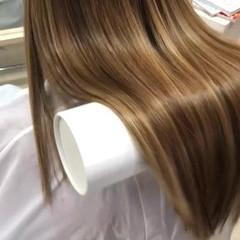ロング 美髪 ナチュラル トリートメント ヘアスタイルや髪型の写真・画像
